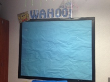 Students show off their 100s
